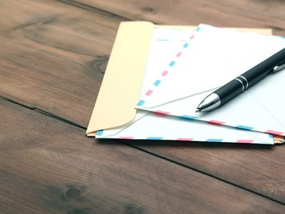 Letter, Envelope, and Pen