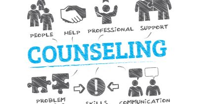 An illustration showing the skills needed when becoming a counsellor