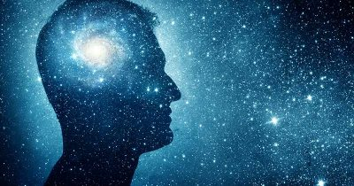 Man listening to philosophy podcasts being in deep thought