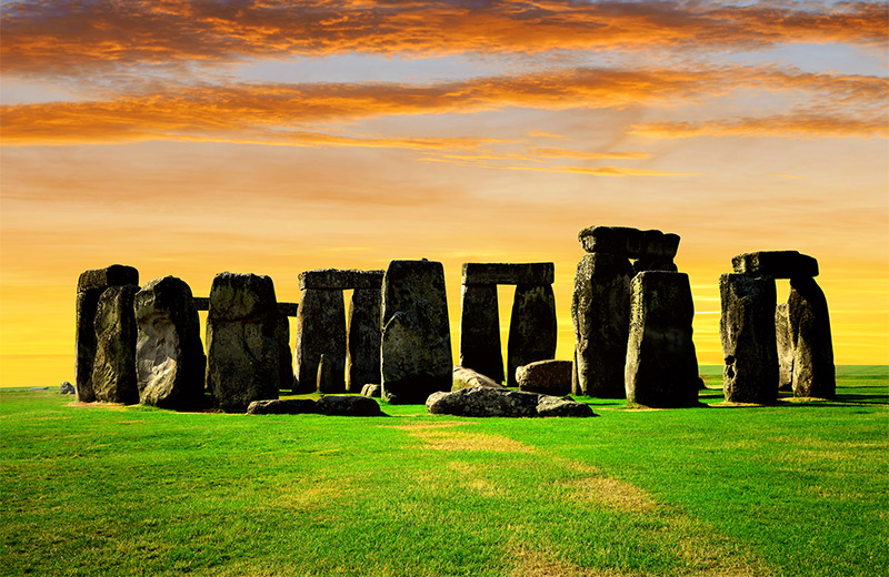 Stonehenge - Thought to Be a Site Used for Pagan Ceremonies