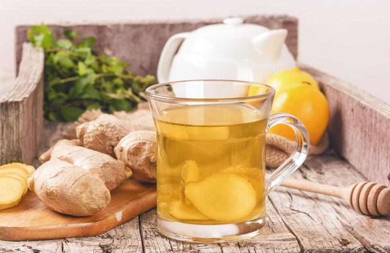 Digestive Detoxing: How to Make Ginger Tea