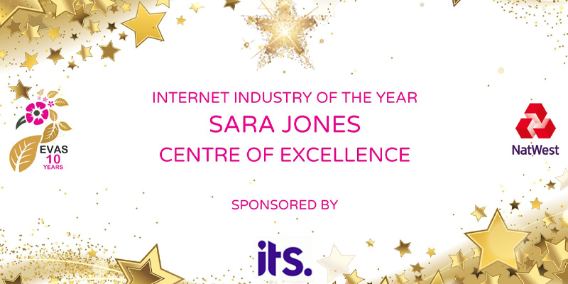 Centre of Excellence has won the EVAs award for Internet Industry business in 2021.
